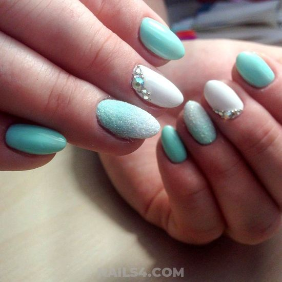 Loveable And Awesome Gel Nail Design - dreamy, star, nailartdesign