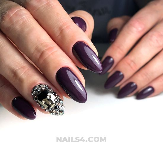 Loveable And Cute Acrylic Nails Style - naildesigns, trendy