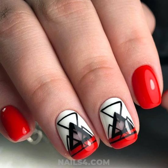 Loveable Attractive American Gel Nail Art Design - elegant, nail, lovely, fashion, royal