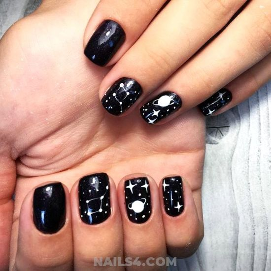 Loveable & Casual Gel Nails Art Design - nailstyle, cutie, party