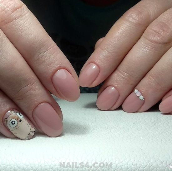 Loveable Elegant French Nails Ideas - teen, plush, dreamy, nail, nailidea