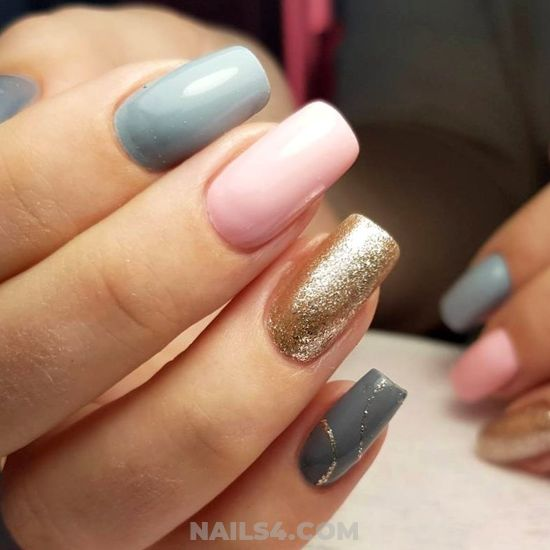 Lovely And Awesome Acrylic Manicure Art - diynailart, nails, handsome, cute