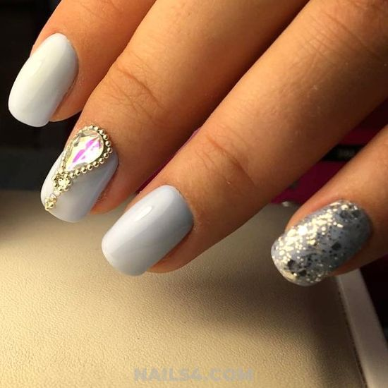 Lovely And Girly Acrylic Manicure Art - royal, nice, extremelycute, nail