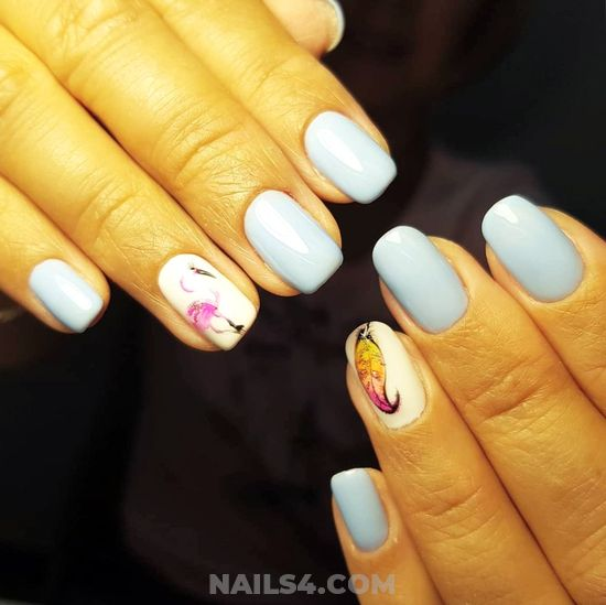 My Attractive And Pretty Gel Manicure Art Ideas - nails, nailartideas, perfect, diy