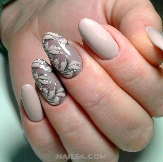 My Best & Simple Acrylic Nail Ideas - nailartideas, nail, selfnail, royal