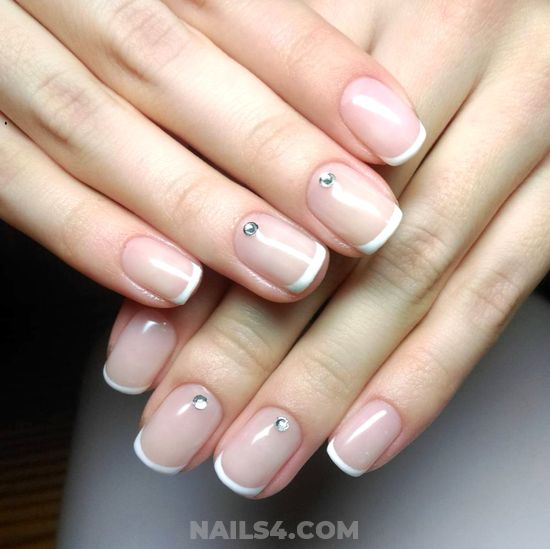 My Birthday And Simple Gel Manicure Art Design - nail, nailstyle, furnished