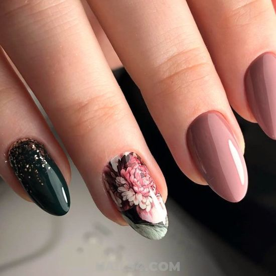 My Birthday Glamour Acrylic Nail Trend - fashion, beauty, dreamy