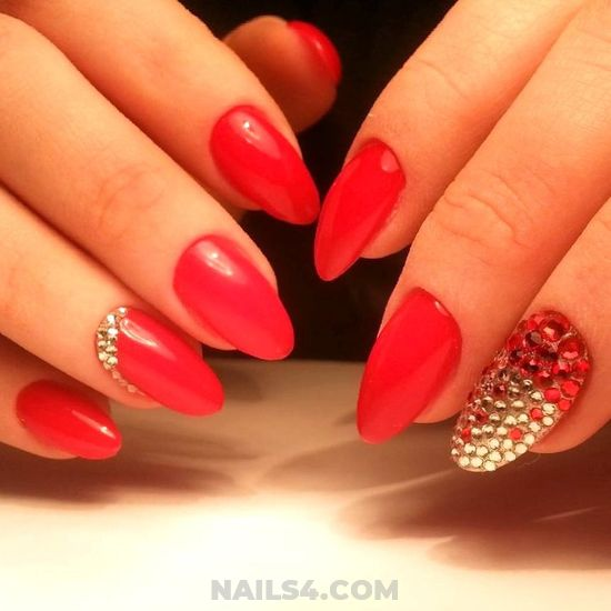 My Casual And Neat Gel Manicure Design - lifestyle, lovely, nail, cutie
