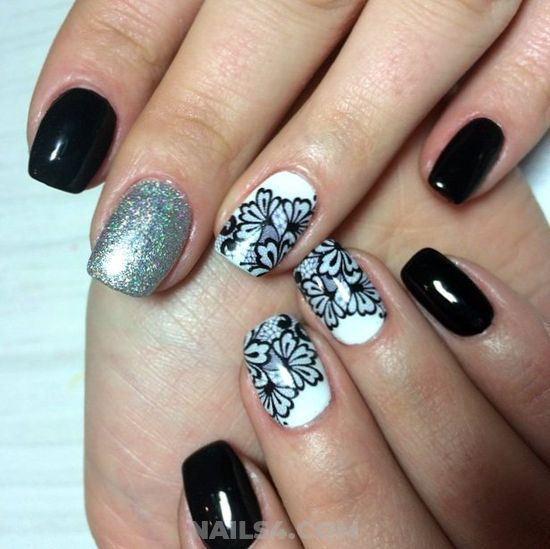 My Casual & Professionail American Gel Nails Ideas - glamour, nails, style, sweetie, cute