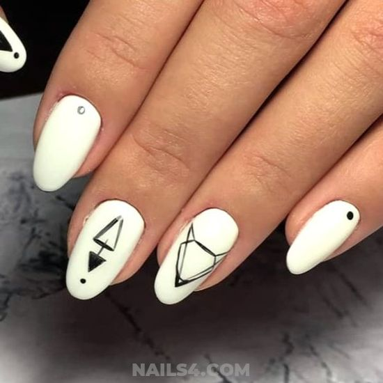 My Colorful Neat Gel Nail Design - nails, nailidea, smart, design, best