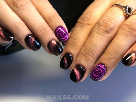 My Cool Inspirational Gel Nails Style - smart, nails, nailidea, glamour, gel