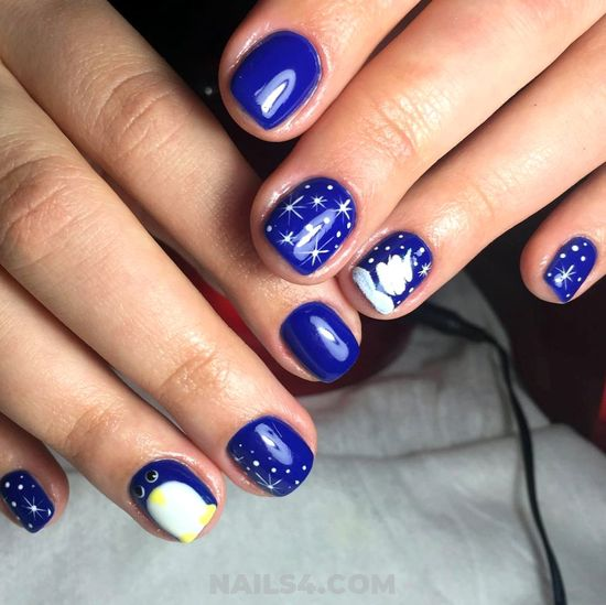 My Creative Inspirational American Gel Nail Design Ideas - cool, style, nailtutorial