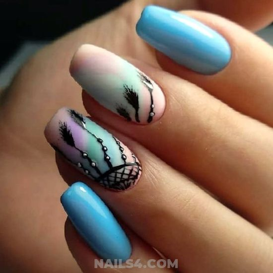 My Delightful And Nice Gel Manicure Art Design - diy, loveable, art, nails, nailidea