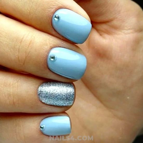 My Delightful Lovely Gel Manicure Design - nails, naildesign, graceful, pretty