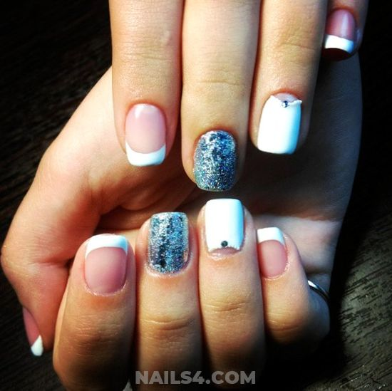 My Dream & Sexy French Nails Design Ideas - charming, nail, nailidea, ideas, sexy