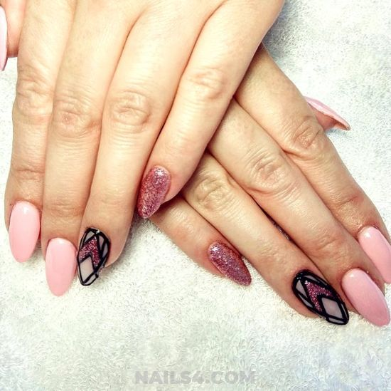My Easy & Beautiful Nail - selfnail, cute, nails, art, furnished