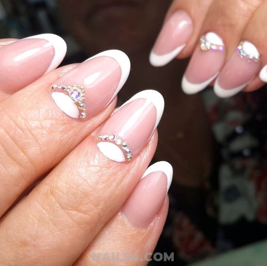My Easy & Best French Gel Manicure Design - love, handsome, nails, charming