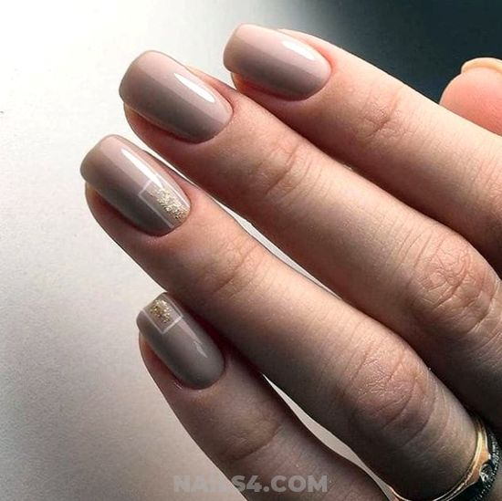 My Glamour Cutie Gel Nails - art, charming, naildesigns, nails