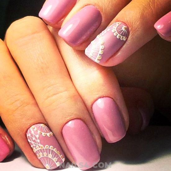 My Graceful & Enchanting American Nail Ideas - hollywood, classic, furnished, nails