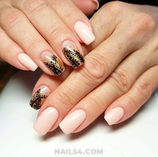 My Inspirational And Feminine Gel Manicure Design Ideas - hilarious, nailideas, style