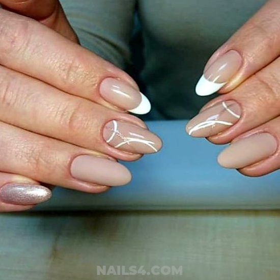 My Inspirational And Fresh Gel Manicure Idea - manicure, neat, getnails