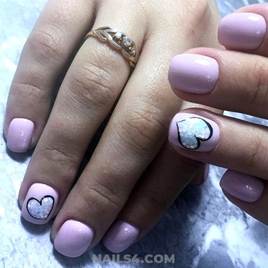 My Lovely Birthday Gel Manicure - gotnails, beauty, nailstyle