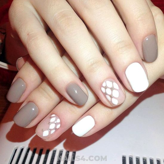 My Neat Manicure Trend - shiny, charming, diynailart