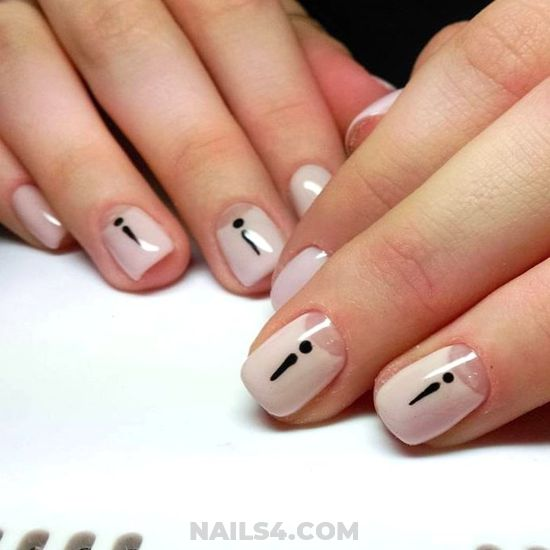 My Nice & Creative French Nail Ideas - diynailart, shiny, style