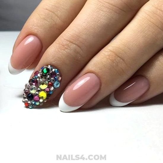 My Pretty Classy Gel Nails Ideas - ideas, lovable, naildesigns, nail