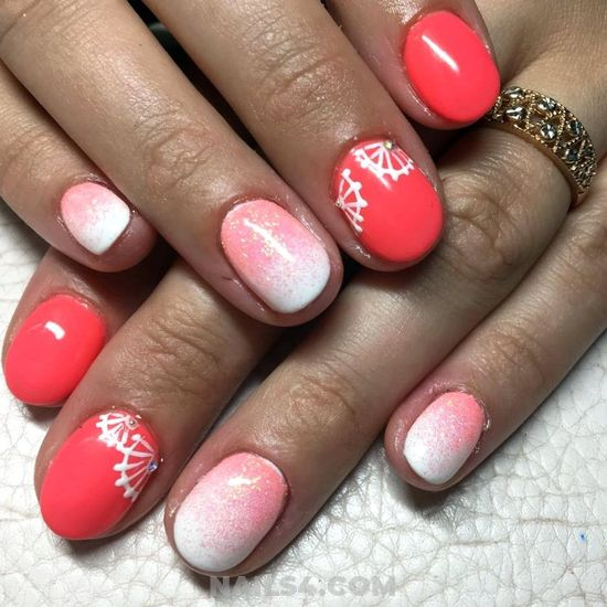 My Professionail & Cute French Acrylic Nails Style - star, nice, nailstyle, cool