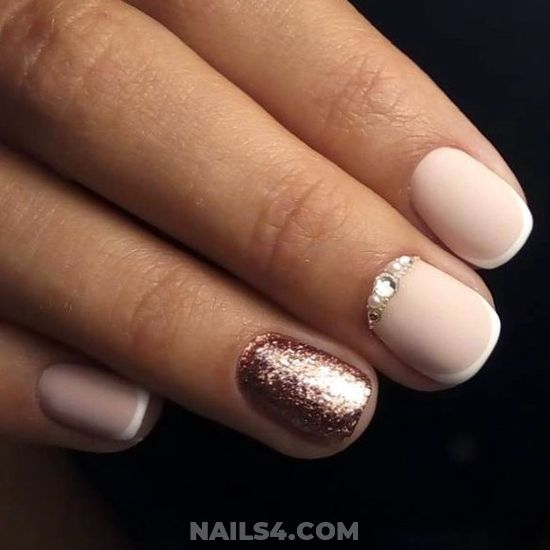 My Stately Balanced Acrylic Nail Ideas - simple, handsome, party