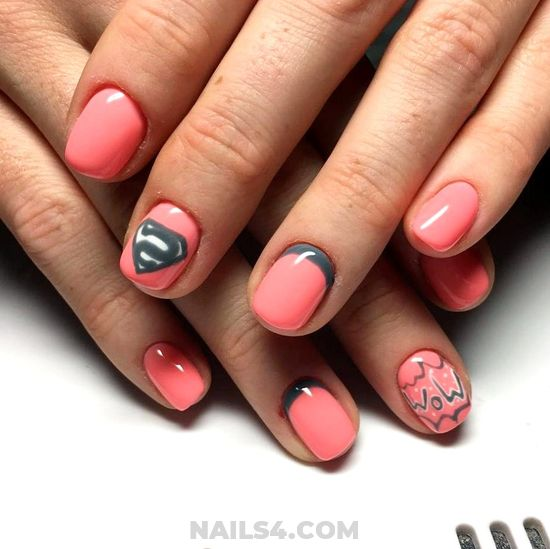 My Stately & Balanced French Idea - nail, naildesign, manicure, nice
