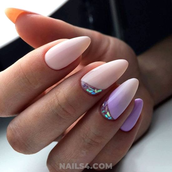 My Trendy And Ceremonial Gel Nails Design - trendy, getnails, goingout