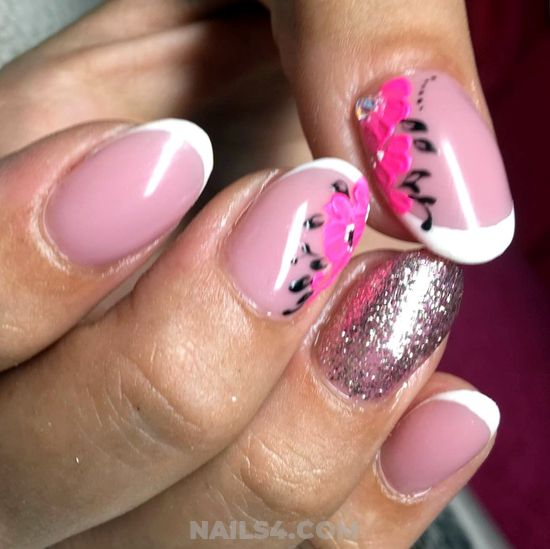 My Trendy French Nail Style - nailswag, charming, nails, gelnails