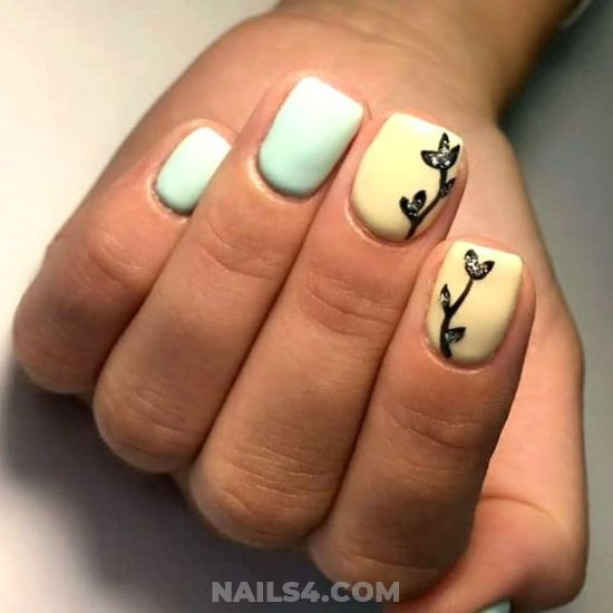 Neat & Cute Gel Manicure Ideas - nailstyle, dreamy, getnails