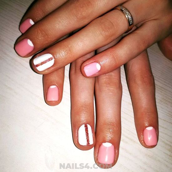 Neat Elegant Gel Nails Design Ideas - sexiest, nail, beautiful, clever