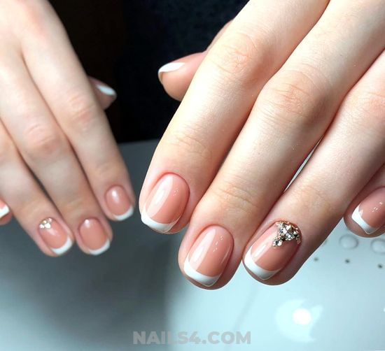 Nice And Elegant Nail Art Ideas - nailpolish, nails, cunning, weekend