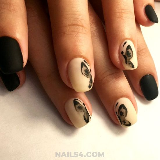 Nice & Dainty Gel Manicure Design - naildesign, sexy, clever
