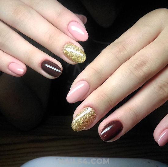 Orderly And Casual Acrylic Manicure Art Design - beautytips, nails, magic, neat