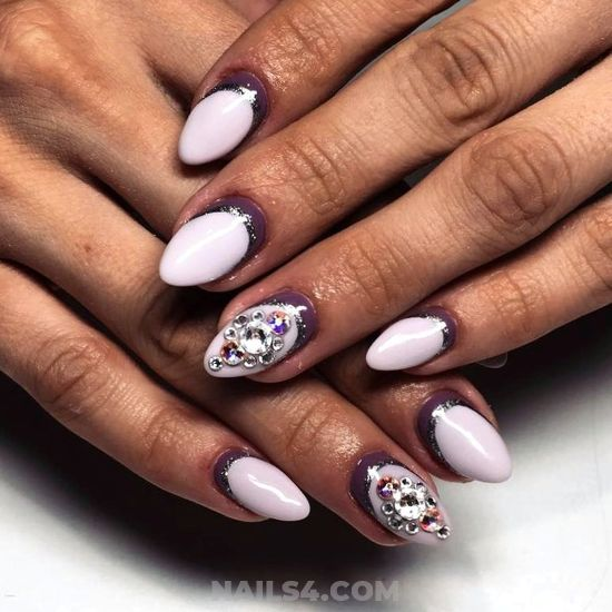 Orderly And Fashionable Gel Nail - idea, simple, nailidea, nails, best