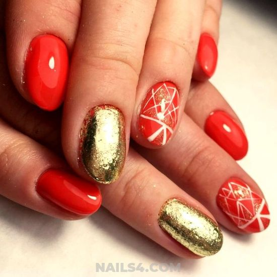 Perfect And Classic Gel Nails Art Design - trendy, elegant, photoshoot