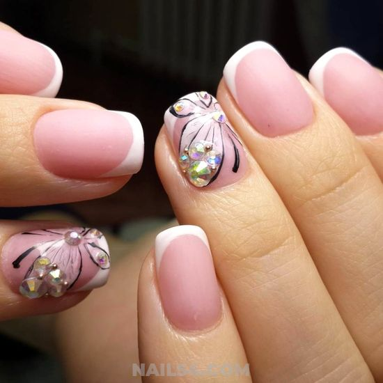 Perfect And Colorful Manicure Style - nails, nailartideas, classic