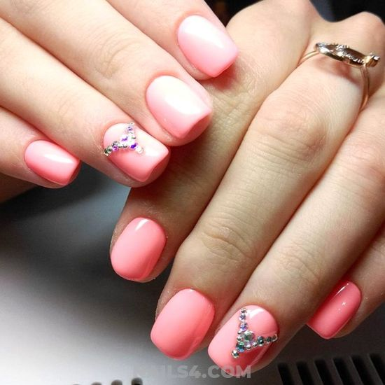 Pretty & Feminine Acrylic Nails Trend - pretty, diy, nailartdesigns