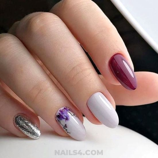 Pretty French Manicure Design Ideas - nails, style, sweetie, dainty