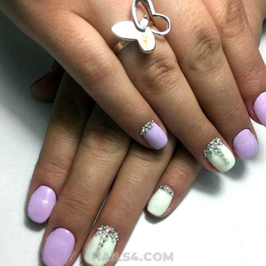 Pretty & Girly Nail Art Design - graceful, beauty, naildesign, nails