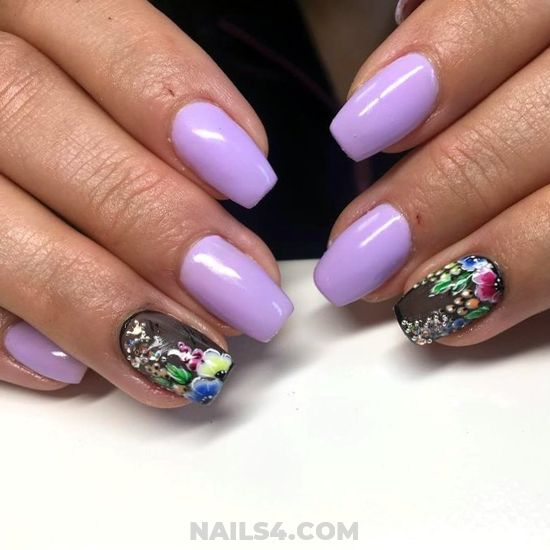 Professionail Dainty Gel Nail - nails, nailswag, charming