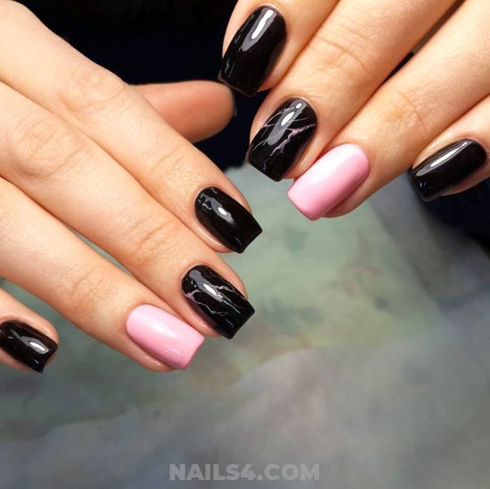 Sexy And Cute Gel Nails Idea - nailart, top, clever