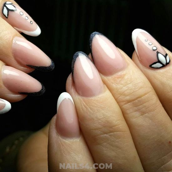 Sexy Balanced French Gel Nails Trend - loveable, graceful, awesome