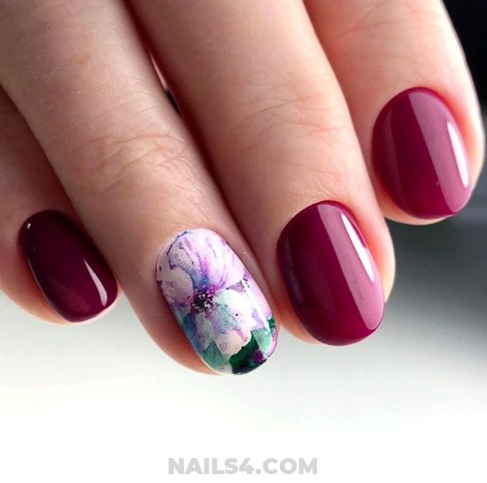 Sexy Birthday Acrylic Manicure Art Ideas - adorable, nailidea, nailart, cute