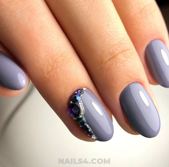 Simple And Adorable Acrylic Manicure Ideas - sexiest, handsome, nailstyle, nail